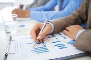 Professionals understanding business acumen concepts