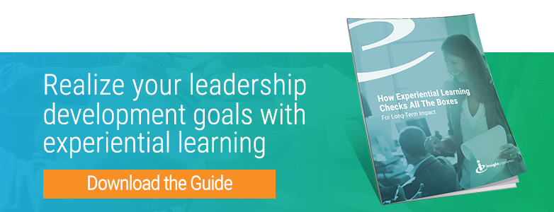 Realize your leadership development goals with experiential learning Download the guide